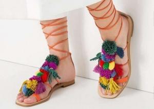 Moda pompones